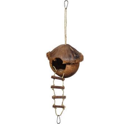 Prevue Hendryx Coco Island Hideaway Bird Cage Toy