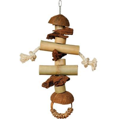 Prevue Hendryx Coco and Bamboo Gorilla Bird Cage Toy
