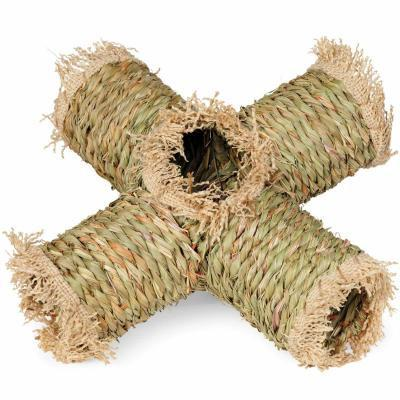 Prevue Hendryx Grass Cross Tunnel for Small Animals