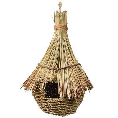 Prevue Hendryx Large Tiki Hut Bird Cage Nest