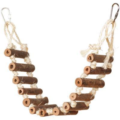 Prevue Hendryx Natural Rope Ladder Bird Cage Accessory