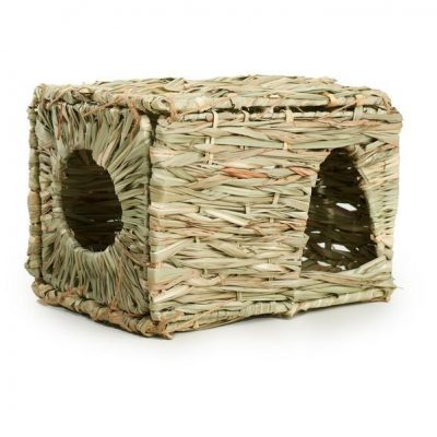 Prevue Hendryx Nature's Hideaway Large Grass Hut for Small Animals