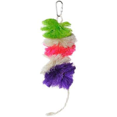 Prevue Hendryx Tropical Teasers Triple Play Bird Cage Toy