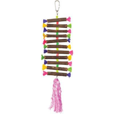 Prevue Hendryx Tropical Teasers Twisting Sticks Bird Cage Toy