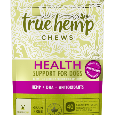 True Leaf Hemp Based Functional Chews for Dogs - Health Antioxidant Formula