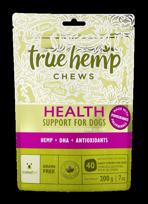 True Leaf Hemp Based Functional Chews for Dogs - Health Antioxidant Formula