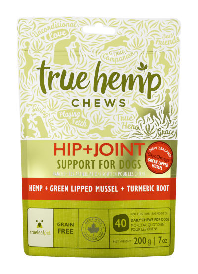 True Leaf Hemp Based Functional Chews for Dogs - Hip and Joint