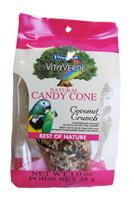 Vitakraft VitaVerde Natural Candy Cone Treat  for Birds - Coconut Crunch