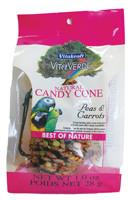 Vitakraft VitaVerde Natural Candy Cone Treat  for Birds - Peas and Carrots