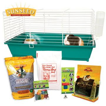 Ware Home Sweet Home Sunseed Guinea Pig Cage and Starter Kit