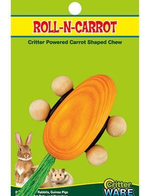 Ware Roll N Carrot Small Animal Toy