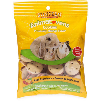 buy sunseed-animalovens-cookies-cranberry-orange-flavor-for-small-animals