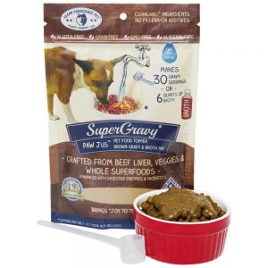 Buy Clear Conscience Pet PawJus Beef Liver and Veggies Super Gravy online in Canada from Canadian Pet Connection