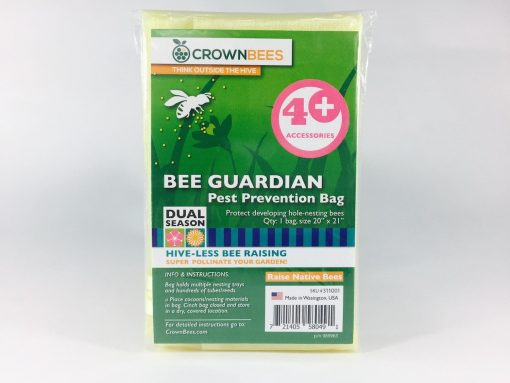 Crown Bees BeeGuardian Cocoon Bag for Native Bees