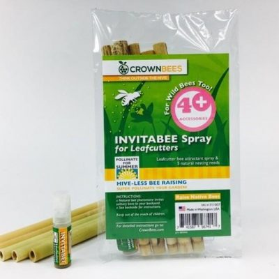 $7.99 Quick View; Crown Bees InvitaBee Leafcutter Bee Attractant