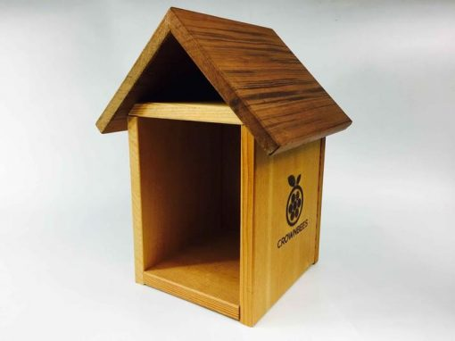 Crown Bees Tower Style Bee House