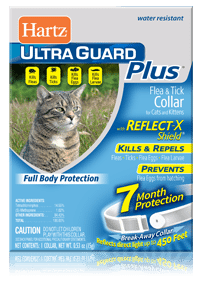 Hartz Ultraguard Plus Reflecting Flea and Tick Collar with Reflect-X Shield for Cats and Kittens