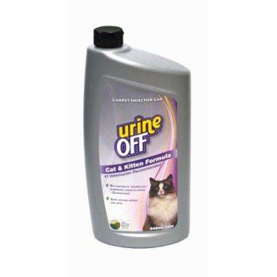 Urine Off Cat and Kitten Stain and Odour Remover Carpet Formula