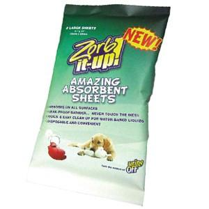 Urine Off Zorb-It-Up Disposable Urine Removing Sheets