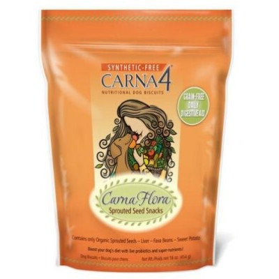 Buy Carna4 CarnaFlora Sprouted Seed Snacks Grain Free Dog Treats