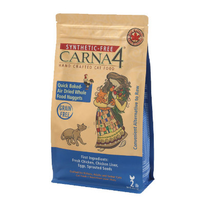 Buy Carna4 Handcrafted Chicken Cat Food.