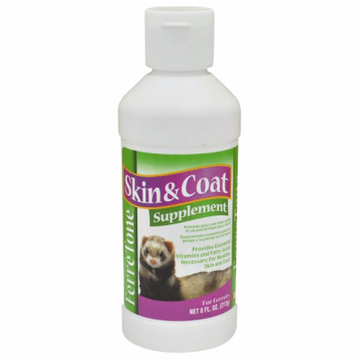 8 in 1 FERRETONE Skin and Coat Liquid  Supplement for Ferrets