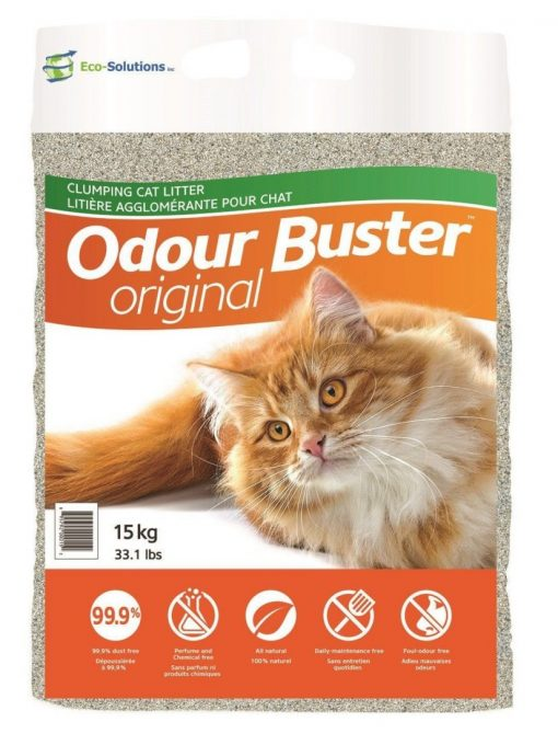 ECO-SOLUTIONS Odour Buster Clumping Cat Litter