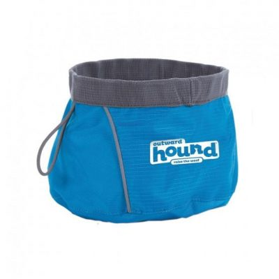 OUTWARD HOUND Designer II Jr. Port A Bowl  Portable Dog Bowl