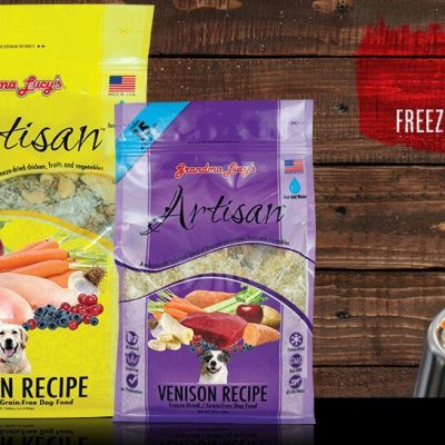 GRANDMA LUCY'S Artisan Freeze Dried Dog Food - Grain Free - for All Life Stages