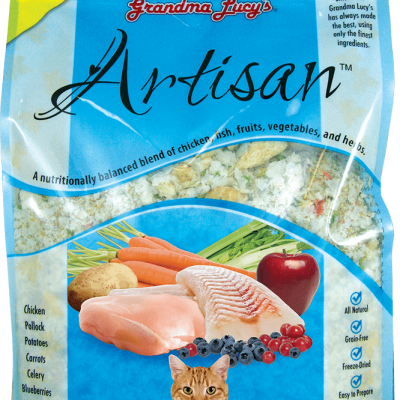 Buy Grandma Lucy's Artisan Chicken and Fish Freeze Dried Cat Food online in Canada from Canadian Pet Connection