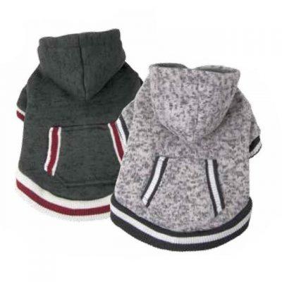 Fou Fou Dog Heritage Knit Dog Hoodies