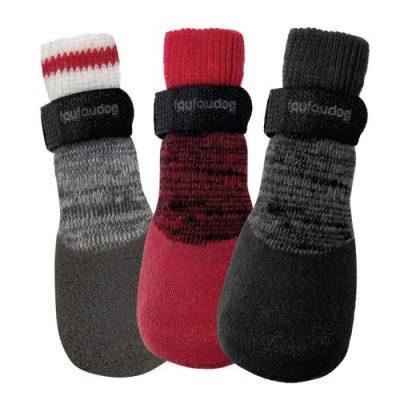 Fou Fou Dog Heritage Rubber Dipped Dog Socks