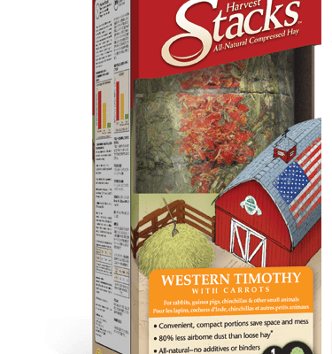 Buy OXBOW Harvest Stacks with Western Timothy and Carrots online from Canada