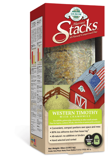 Buy OXBOW Harvest Stacks with Western Timothy and Chamomile online in Canada