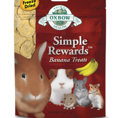 OXBOW Simple Rewards Banana Treats for Small Animals