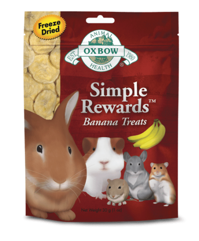 OXBOW Simple Rewards Banana Treats for Small Animals