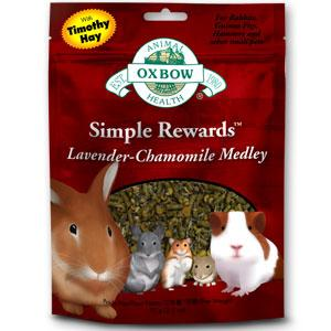 Buy Oxbow Simple Rewards Lavender and Chamomile Medley Treats online in Canada
