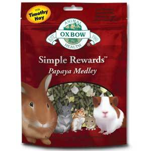 Buy Oxbow Simple Rewards Papaya Medley Treats online in Canada