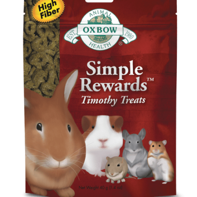Buy Oxbow Simple Rewards Timothy Treats online in Canada