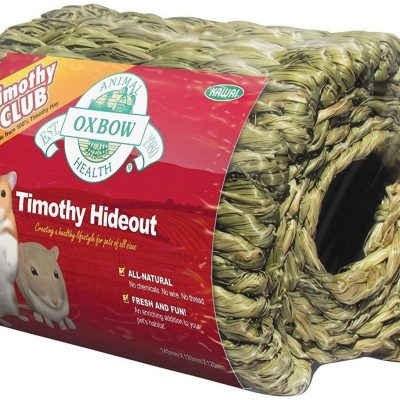 Buy the OXBOW Timothy Hay Hideout for Small Animals online from our warehouse in Canada