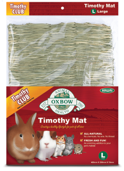 Buy OXBOW Timothy Hay Mats for Small Animals online in Canada