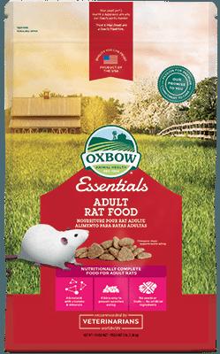 Buy Oxbow Essentials Adult Rat Food online in Canada