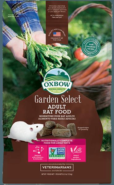 Oxbow Garden Select Adult Rat Food
