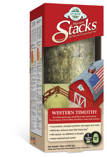 Buy OXBOW Western Timothy Harvest Stacks online in Canada from Canadian Pet Connection