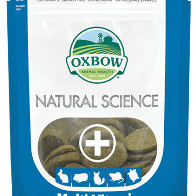 Buy Oxbow Natural Science MultiVitamin for Small Animals online from our warehouse in Canada
