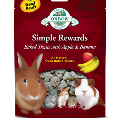 buy Oxbow Simple Rewards Apple Banana Baked Treats online from our warehouse in Canada