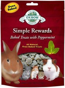 Oxbow Simple Rewards Baked Treats for Small Animals - Peppermint