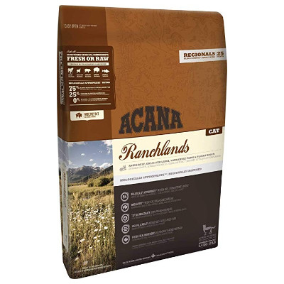 Buy Acana Regionals Ranchlands Adult Cat and Kitten Food for All Ages - Grain Free