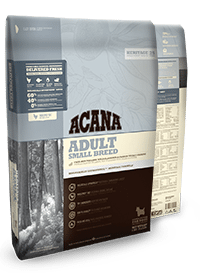 Buy Acana Heritage Adult Small Breed Dog food online in Canada from Canadian Pet Connection