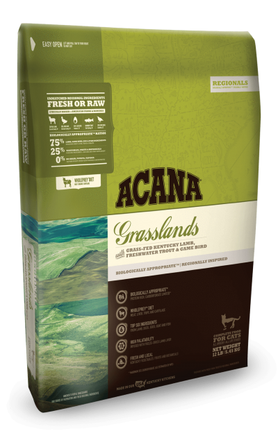 BUy Acana Regionals Grasslands Adult Cat and Kitten Food online in Canada from Canadian Pet Connection